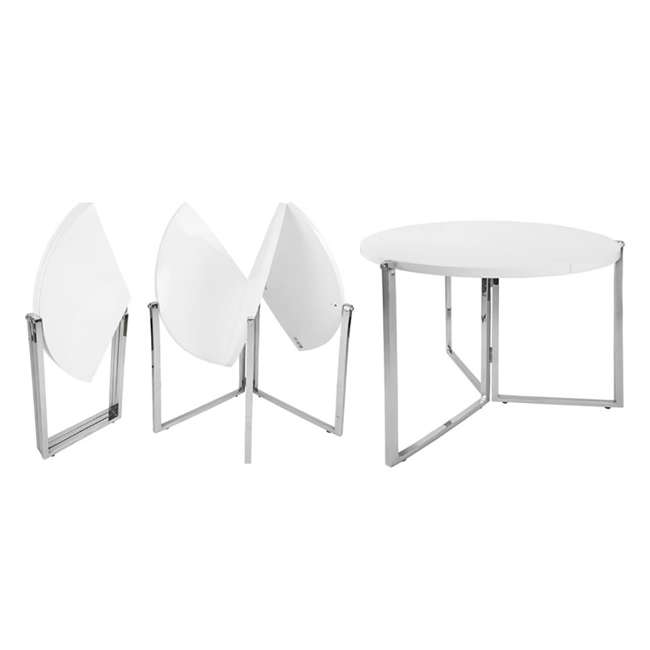 CO-2389-U-C SpaceMaster Space Saving Circular Articulated Panel Folding Table (For Parts) 1