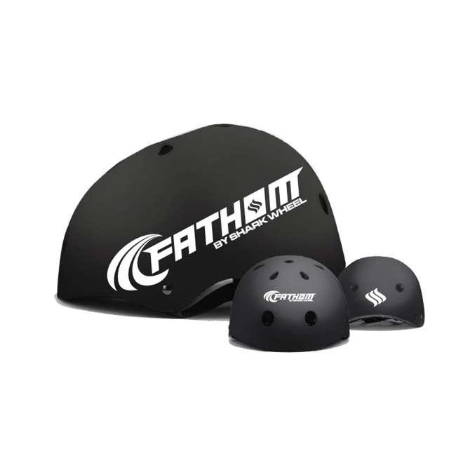 8668 + 8486 Fathom 22-Inch Skateboard | Fathom ABS Large/Extra Large Skateboard Helmet 5