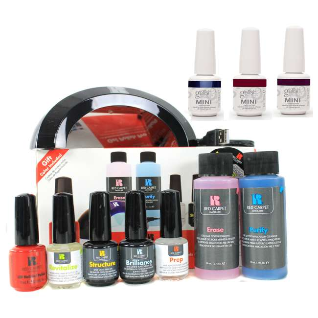 Red Carpet Manicure Complete Starter Led Gel Nail Polish