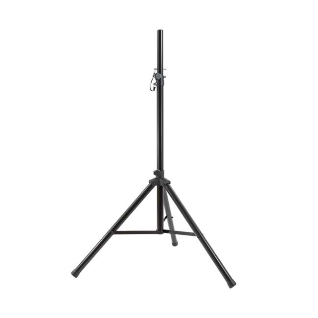 "AS-08P + ST-PACK Gemini AS-08P 8"" Active Powered PA Loudspeaker (2 Pack) with Tripod Stands & Bag 5"