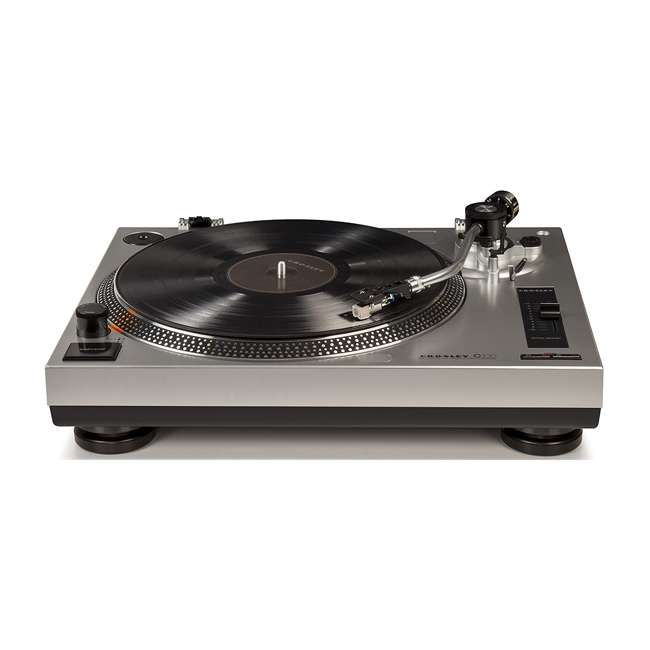 C100A-SI Crosley C100 2-Speed Preamp Record Player Turntable 3