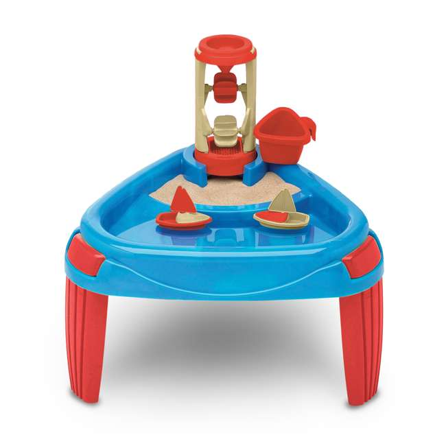 APT-16500 American Plastic Toys Kids Sand and Water Wheel Play Table