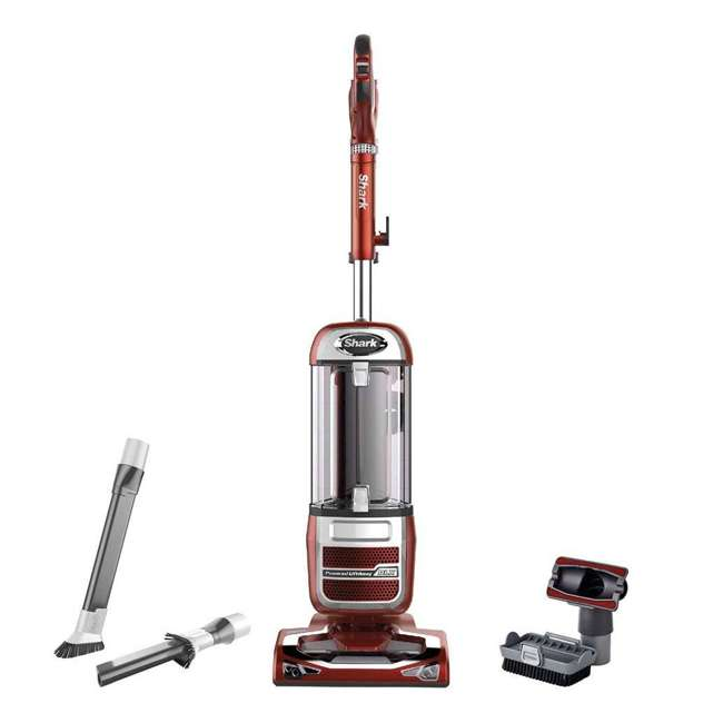 NV585_EGB-RD-RB Shark Navigator Upright Vacuum, Red (Certified Refurbished)
