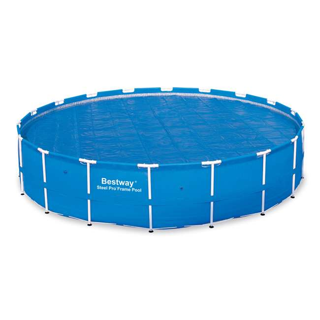 Bestway 18 Foot Above Ground Pool Solar Heat Cover 58173