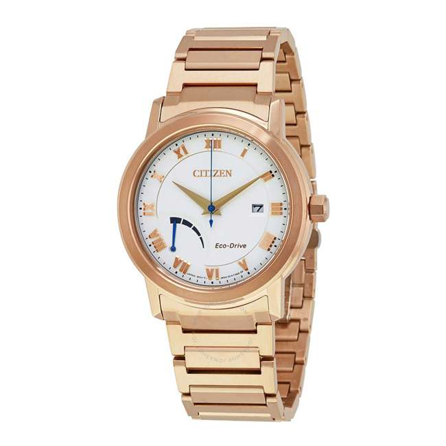 AW7023-52A Citizen Men's Eco-Drive Dress Quartz Stainless Steel and Gold Watch