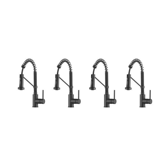 4 x KPF-1610MB Kraus Bolden 18-Inch Single Handle Faucet (4 Pack)