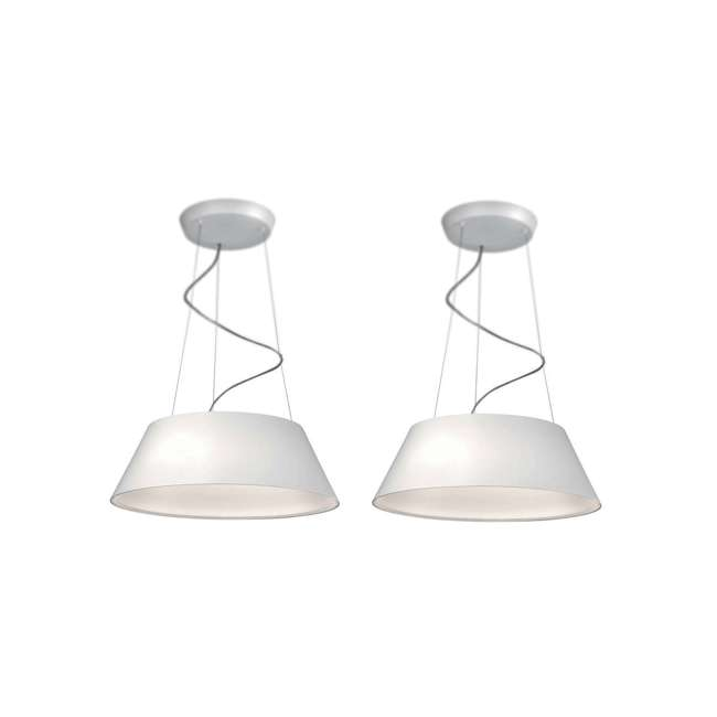 PLC-405503148 Philips 405503148 Ledino Cielo Pendant Light, White (2 Pack)