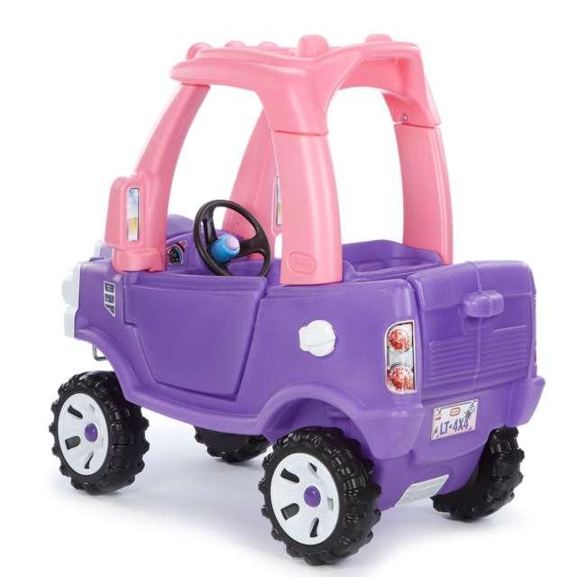 642777M-U-A Little Tikes Pink and Purple Princess Cozy Kids Ride On Truck (Open Box) 2