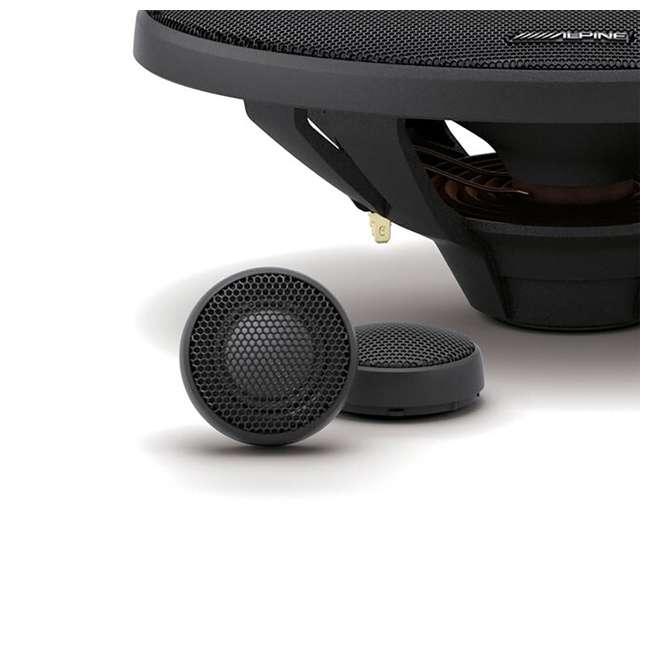 X-S69C-OB Alpine X-Series 6x9 Inch 360-Watt Component Speaker System 3