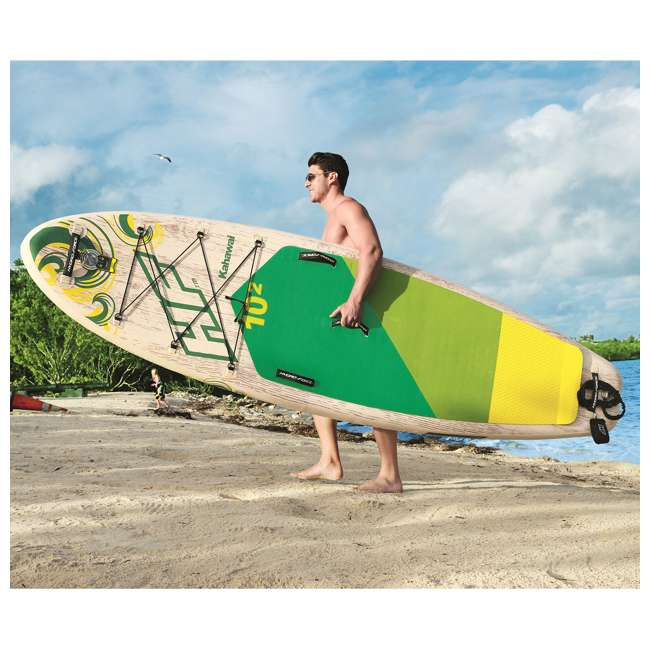 65308E-BW Bestway Hydro-Force Kahawai 10 Foot Inflatable SUP Paddle Board 11