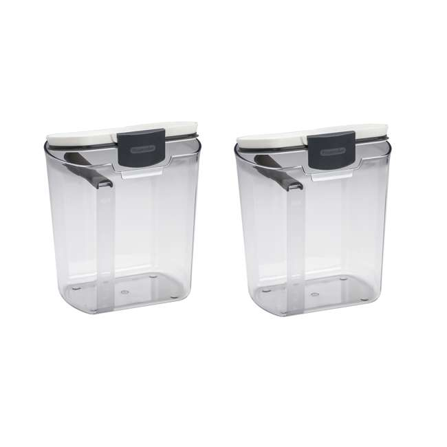PKS-100 Progressive International Plastic ProKeeper Flour Container, 1 Piece (2 Pack)