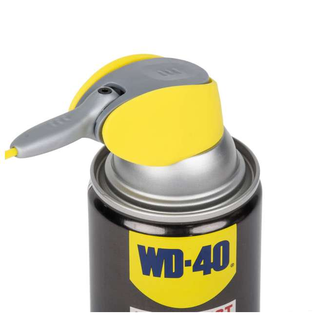 WD-490057 + WD-300004 WD-40 490057 Multi Use Lubricant with Smart Straw, w/ WD-40 Metal Rust Spray, 3