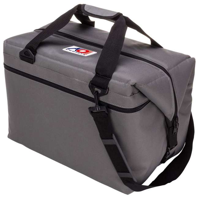 AO48CH AO Coolers Original 48 Can Soft Side Cooler w/ High Density Insulation, Charcoal