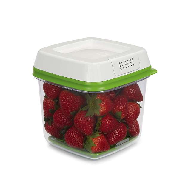 2016450 Rubbermaid FreshWorks Produce Saver 3 Piece Fresh Food Storage Container Se 2