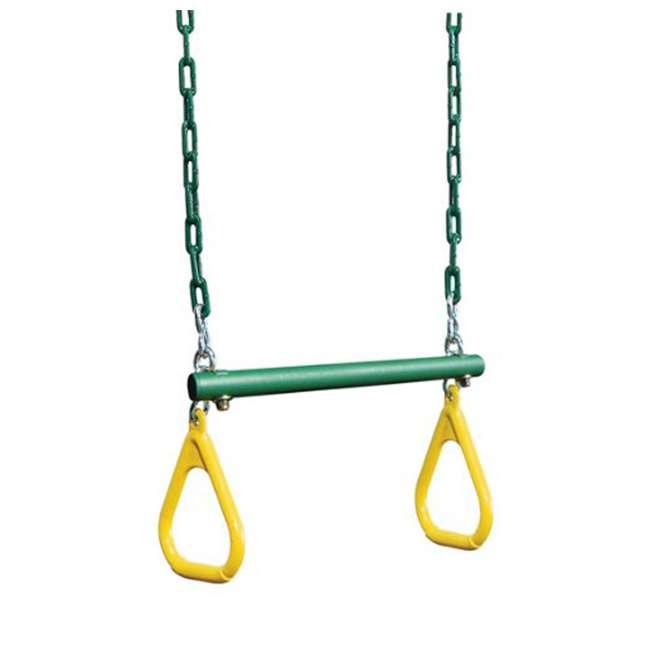 AA926-242 Creative Playthings AA926-242 Kids Playground Swing Set Ring Trapeze w/ Chain