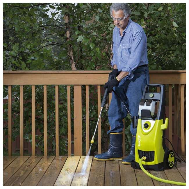 SUJ-SPX3000-RB Sun Joe Electric Pressure Washer 2030 PSI (Certified Refurbished) 7