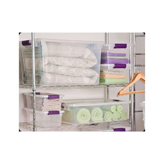 42 x 17571706 Sterilite 66-Quart ClearView Latch Box | 17571706 (42 Pack) 5