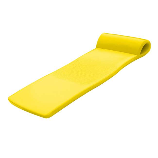 8020035 + 8020012 TRC Recreation Super Soft Sunsation Foam Pool Float Loungers, Pink and Yellow 7