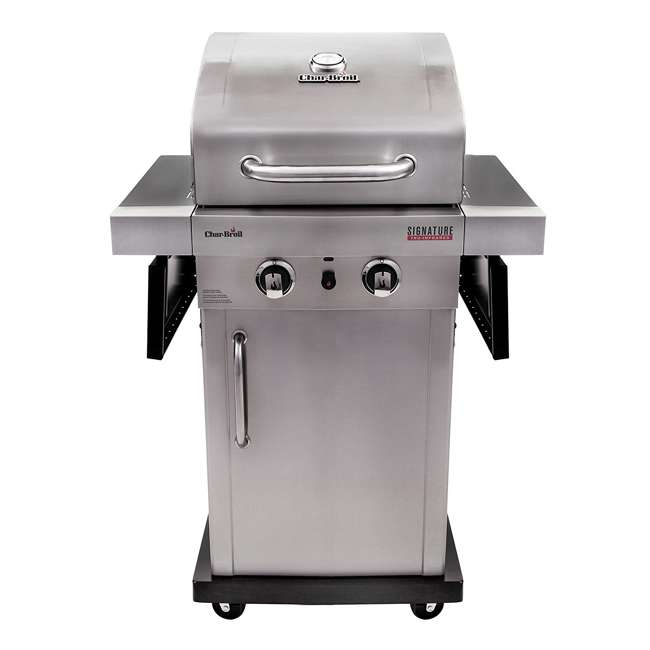 char broil signature tru infrared 2 burner gas grill 463675016p1. Black Bedroom Furniture Sets. Home Design Ideas