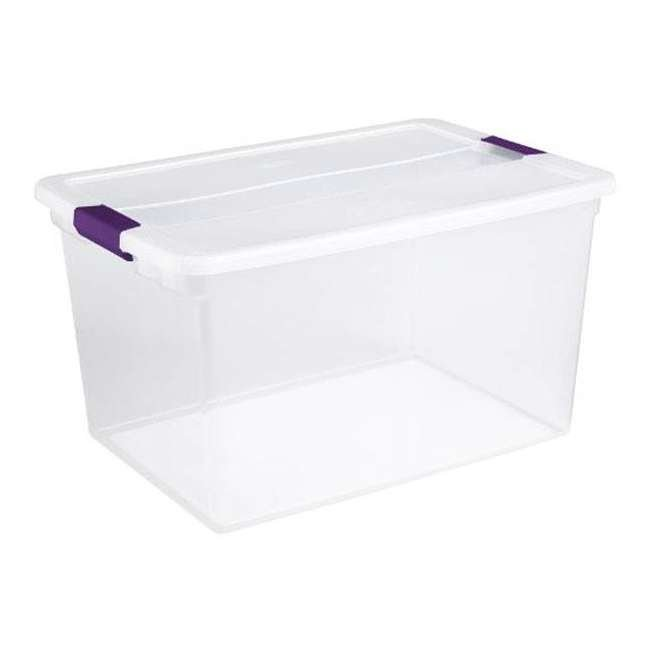 36 x 17571706-U-A Sterilite 66-Quart ClearView Latch Box Storage Container (Open Box) (36 Pack) 2