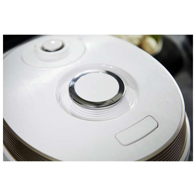 CMC -QSB501S Cuckoo Q5 Premium 8-in-1 Multicooker Steel Q50 Non-Stick Coating, White 3
