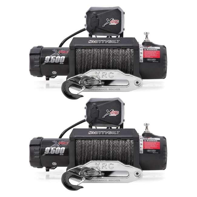 98495-SMITTYBILT Smittybilt XRC-9.5 Gen2 Comp 9500-Pound Waterproof Towing Winch (2 Pack)