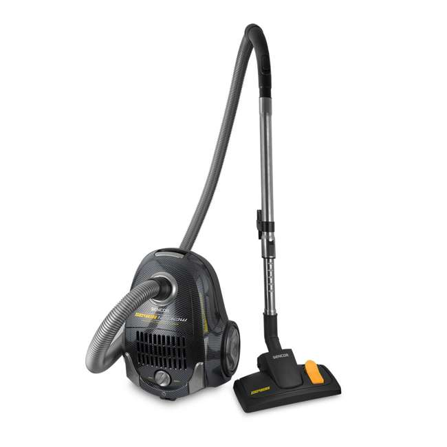 SVC7CA-NAA1 LNK2 Sencor SVC-7CA 120V 5 Wheeled Turbo Nozzle Hard Surface Vacuum Cleaner, Black 2