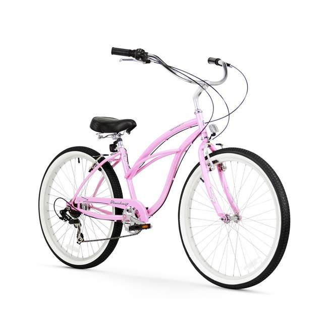 "14803 Firmstrong Urban Lady Women's 26"" 7-Speed Cruiser Bike, Pink"
