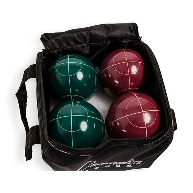 CG200 Champion Sports CG200 Tournament Series Classic Bocce Ball Set with Tote Bag 2