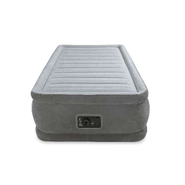 4 x 64411E-U-A Intex Comfort Plush Elevated Dura-Beam Airbed w/ Pump - Twin (Open Box) (4 Pack) 4