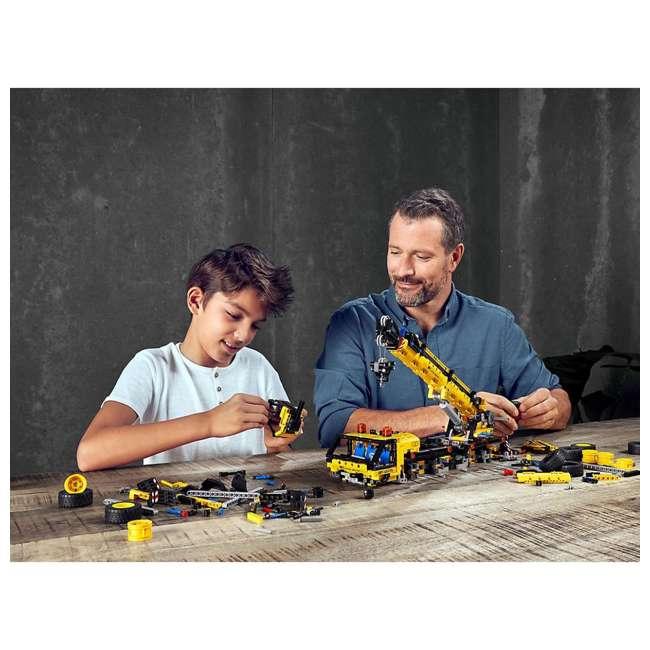 6288778 LEGO Technic 42108 Mobile Construction Crane Vehicle 1292 Piece Building Set 5