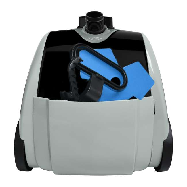 GS65-BJ-BLACK Salav GS65-BJ Wide Bar Garment Steamer with 360 Swivel Hanger 4