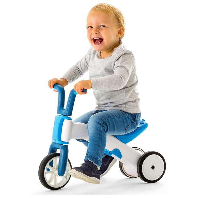 CPBN02BLU Chillafish CPBN02BLU Bunzi Childrens Gradual Balance 2 in 1 Tricycle Bike, Blue 1