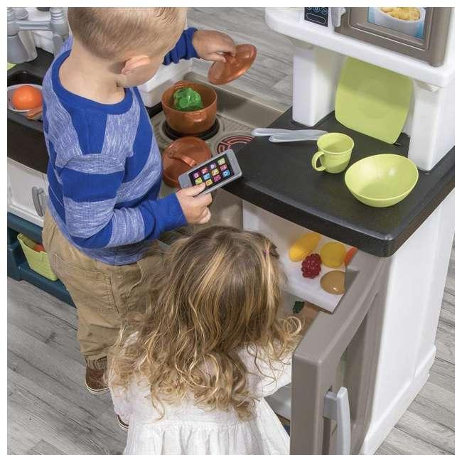 879799 Step2 Plastic Pretend Play Modern Metro Kitchen 6