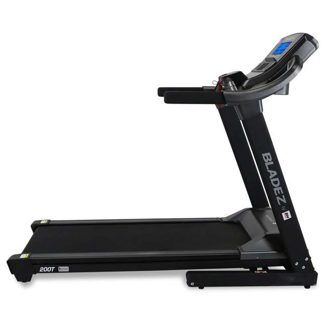 200T BH Fitness 200T Folding Treadmill with Shock Absorption 4