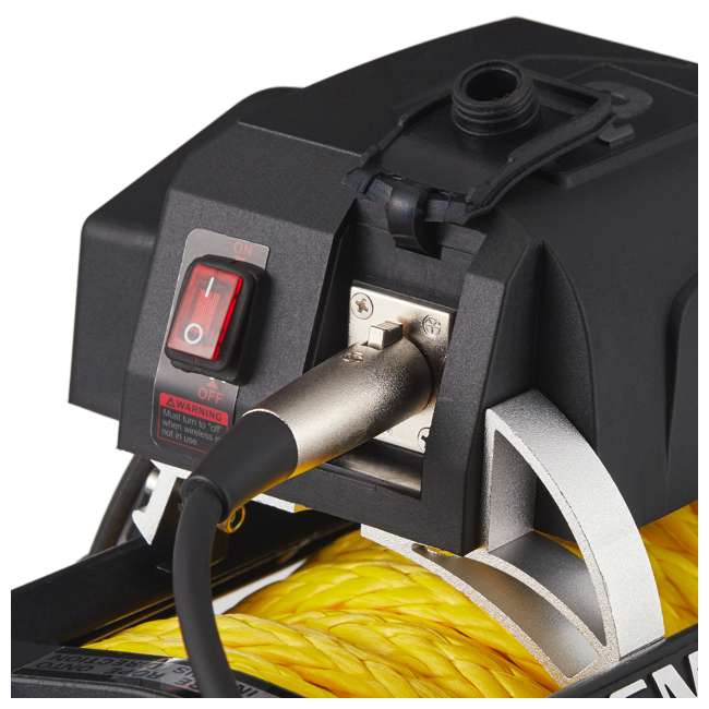 98510Y-SMITTTYBILT Smittybilt 98510Y X2O Gen2 10,000 Pound Wireless Waterproof Synthetic Rope Winch 2