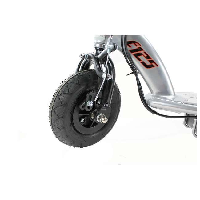 13125E-BK + 97778 + 96785 Razor E125 Motorized 24-Volt Scooter, Black + Youth Helmet + Elbow & Knee Pads 6