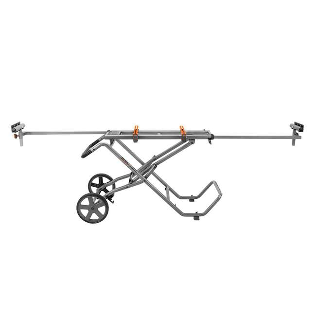 ridgid zrac9946 mobile miter saw stand and utility vehicle