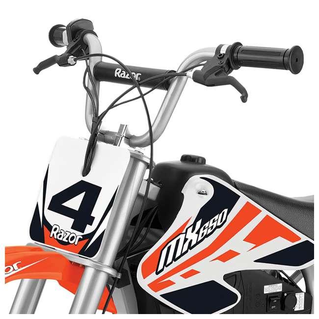 15165010 Razor MX650 Electric Dirt Rocket Bike (2 Pack) 4