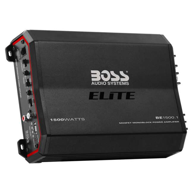 BE1500.1 Boss Audio Systems Elite Monoblock Power Amplifier