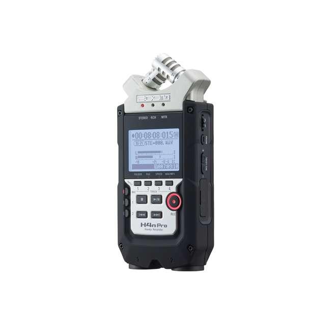 ZH4NPRO + TH02-B + SD4-16GB-SAN Zoom H4n Pro Digital Multitrack Recorder + TASCAM Headphones + Memory Card 3