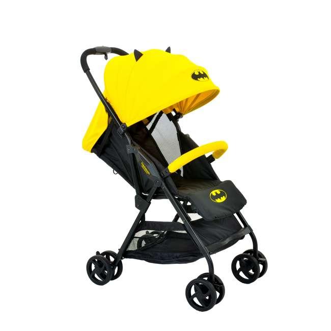 KE-7701BATYL Kids Embrace DC Comics Batman Lightweight Compact Stroller with Canopy, Yellow 4