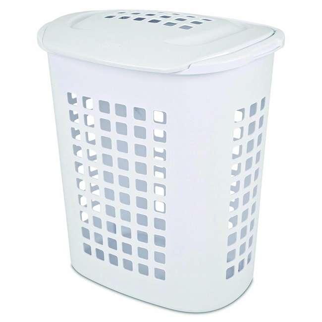 12218004-U-A Sterilite 2.3 Bushell 81 Liter Lift Top XL Laundry Basket Hamper (Open Box) 1