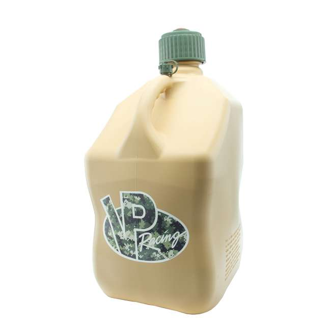 VP-4042 VP Racing 5 Gallon Motorsport Racing Fuel Container Utility Jug Gas Can, Tan