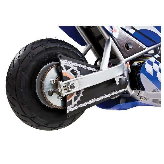 15120040 + 97775 + 96785 Razor Blue Pocket Rocket With Black Sport Helmet And Pad Set  6