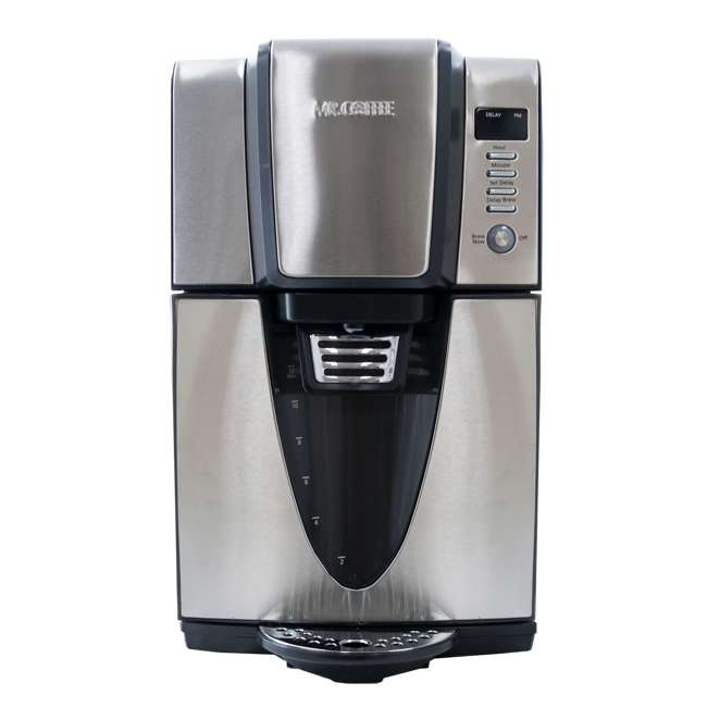 BVMC-ZH1SS Mr. Coffee 24 Hour Programmable 12 Cup Coffee Maker, Stainless Steel (For Parts) 1