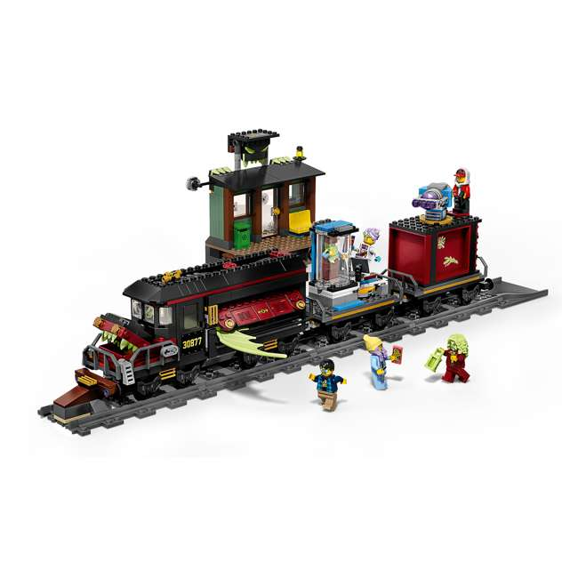 6250516 LEGO AR 70424 Ghost Train Express 689 Piece Block Building Kit w/ 5 Minifigures