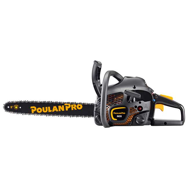 "4 x PL-967063802-ARC-RB Poulan Pro 18"" Bar 2 Cycle Gas Powered Chainsaw (Certified Refurbished) (4 Pack) 5"