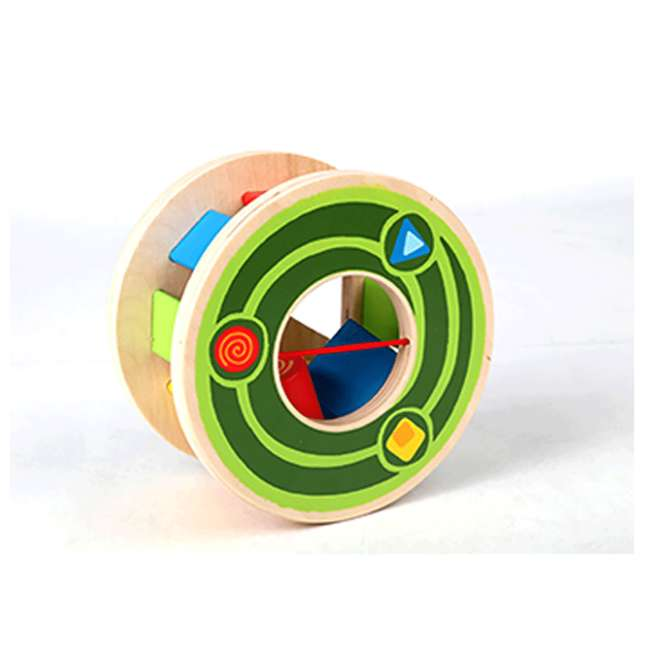 HAP-E0349 Hape Walk-A-Long Snail Wooden Push and Pull Toy 1