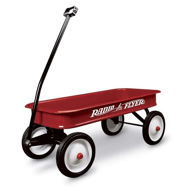 18-100 Radio Flyer Classic Kids Toddler Original Little Red Wagon, 100th Anniversary